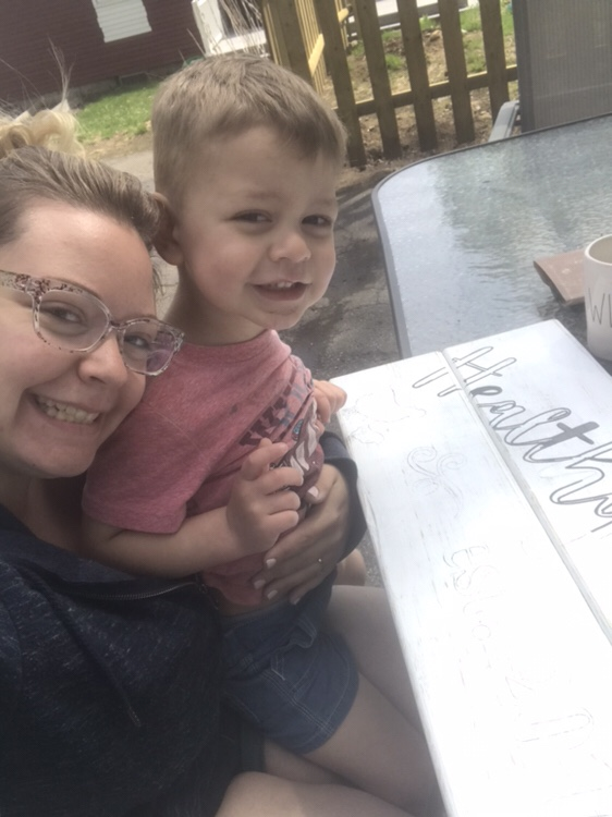 farmhouse, farm, farm sign, sign, wood sign, wood, torrington, ct, torrington connecticut, getting my hands dirty, toddler, toddlers helping